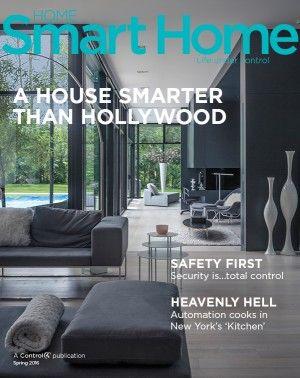home smart home magazine control4 home automation pinterest