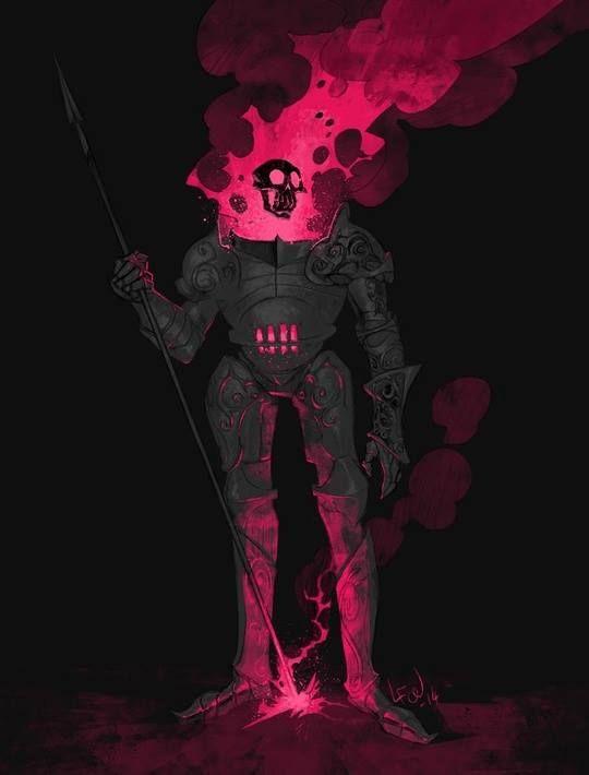 """Skull Knight"" by Fresher Luke*   • Blog/Website | (www.fresherluke.tumblr.com)  • Online Store | (https://www.inprnt.com/gallery/fresherluke)  ★ || CHARACTER DESIGN REFERENCES™ (https://www.facebook.com/CharacterDesignReferences & https://www.pinterest.com/characterdesigh) • Love Character Design? Join the #CDChallenge (link→ https://www.facebook.com/groups/CharacterDesignChallenge) Share your unique vision of a theme, promote your art in a community of over 50.000 artists! || ★"