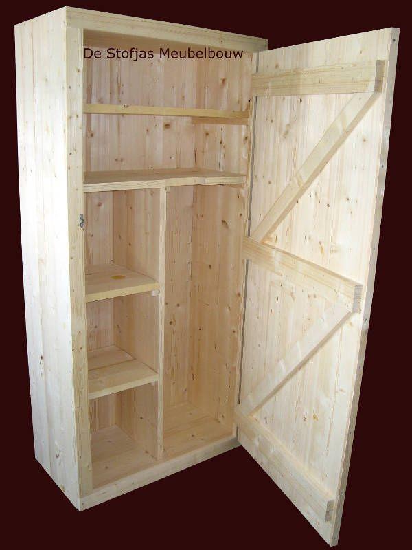 bouwtekening kledingkast steigerhout - Google zoeken - Kast maken ...