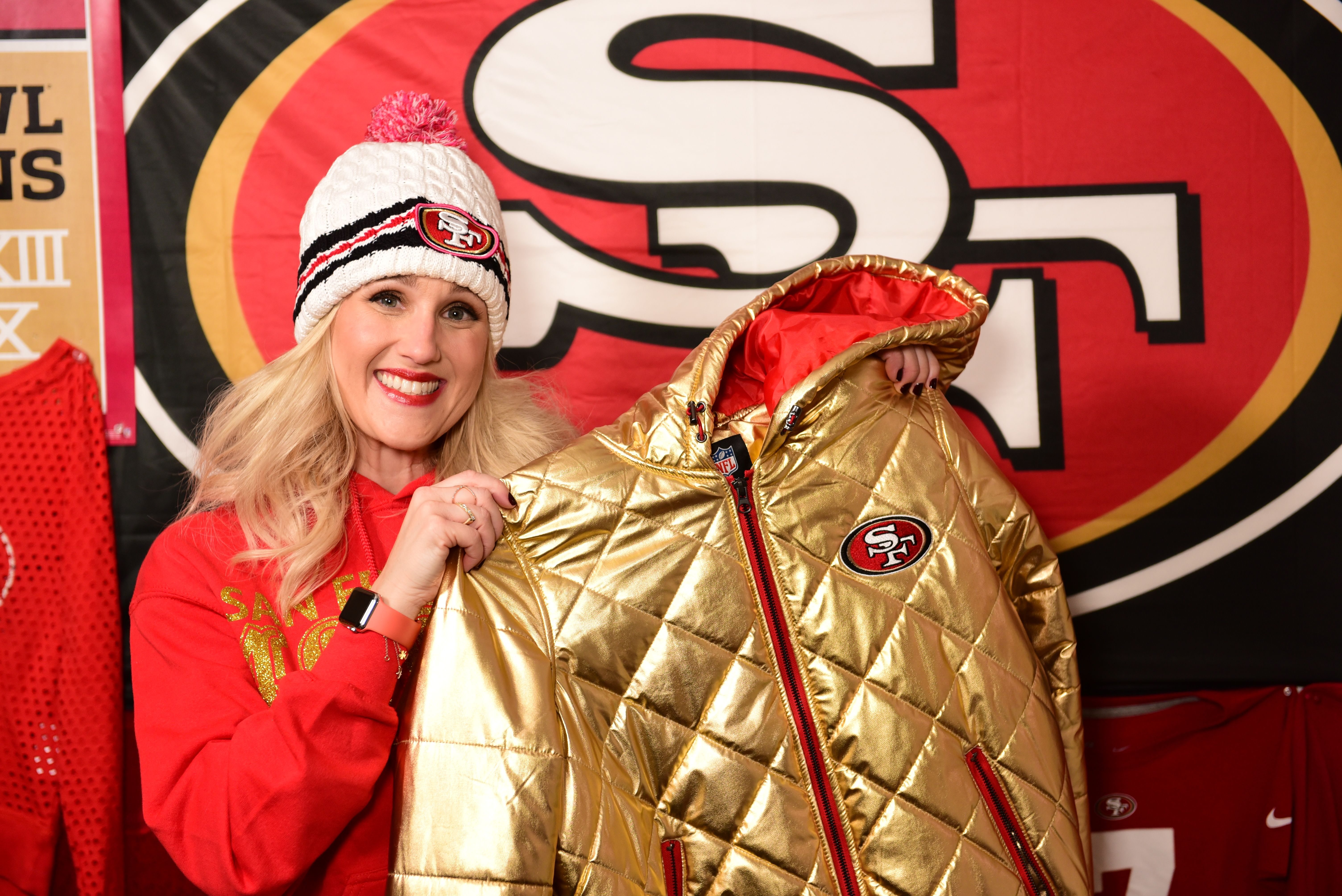 Awesome Gold Jacket From Shop49ers Com 49ers Gold Jacket Niners Levisstadium Gold Jacket Levi Stadium Style
