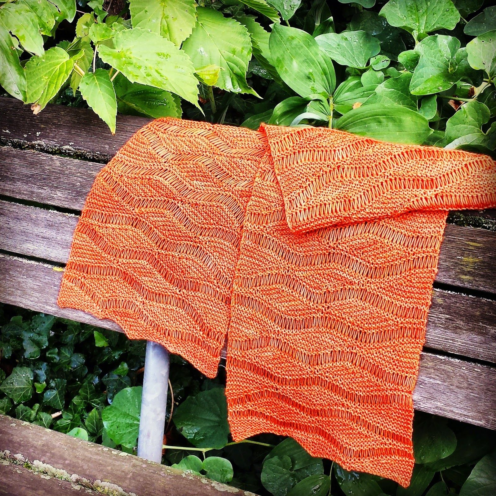 Wellengang Schal (Knitting and so on) | Pinterest ...
