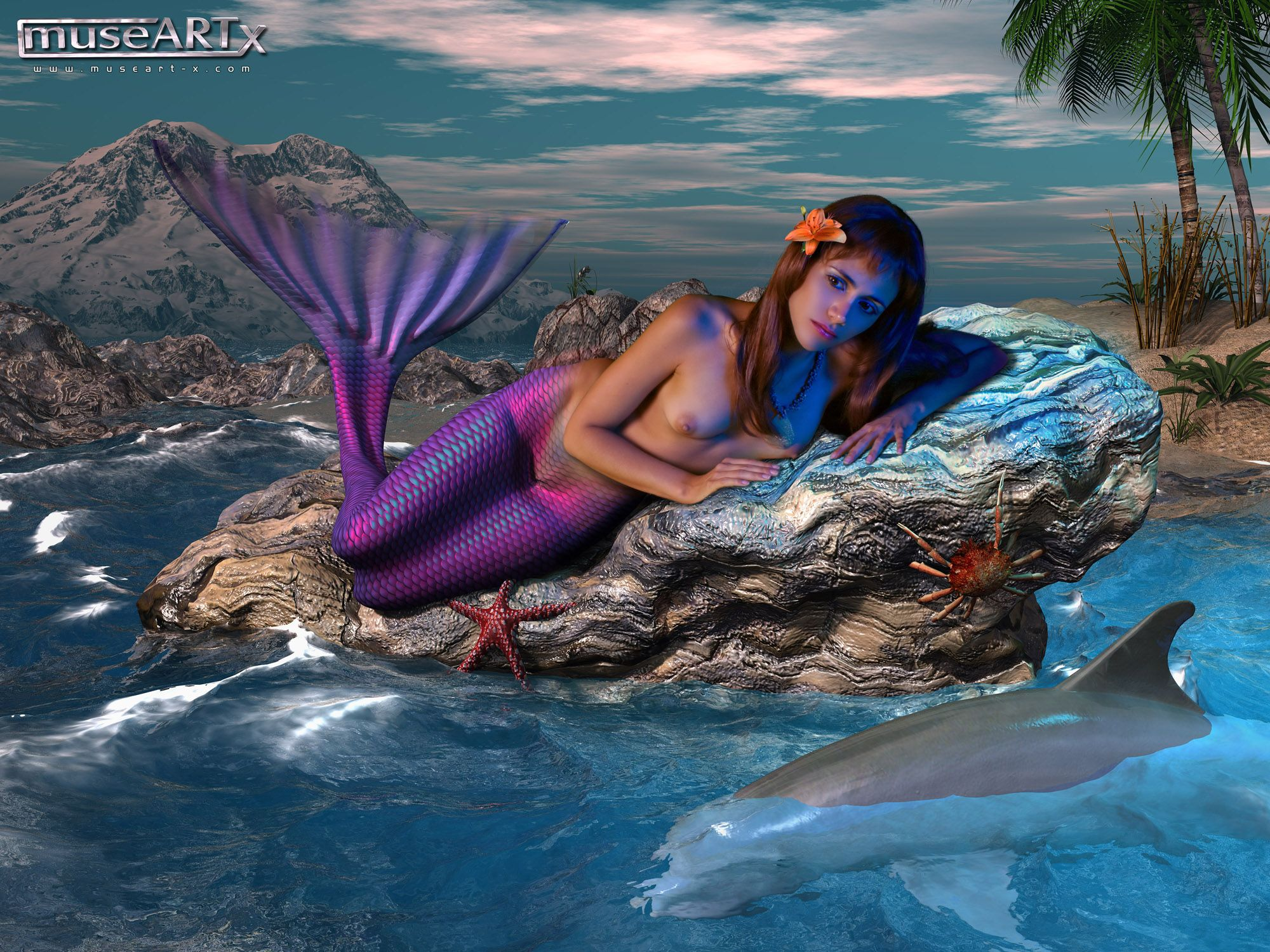 naked sexy ariel little mermaid