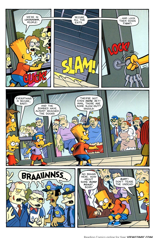 Bart Simpson's Treehouse of Horror 020 (2014) | Viewcomic