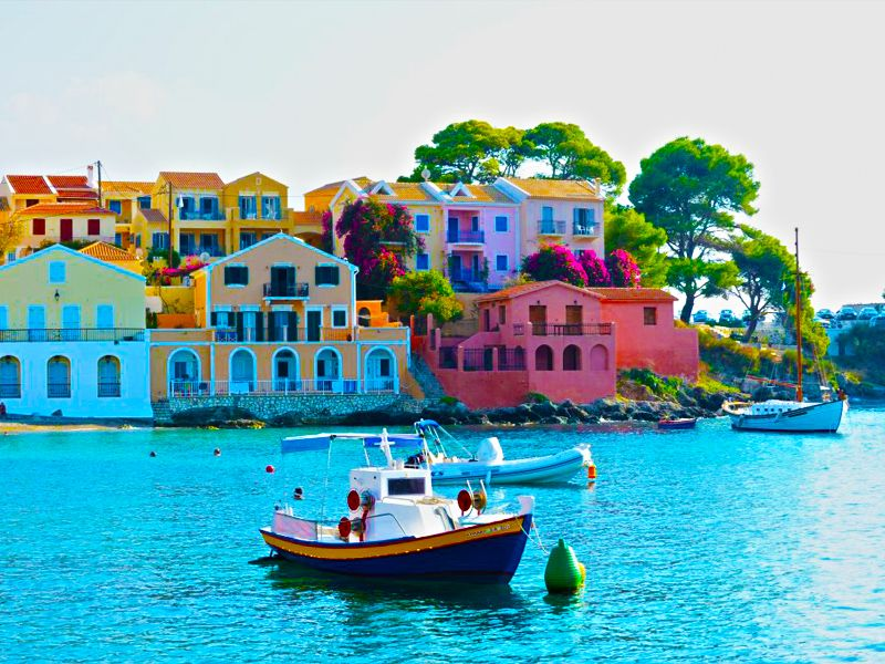 Postcard Perfect Villages In The Greek Islands Kefalonia Greece Holiday Greece