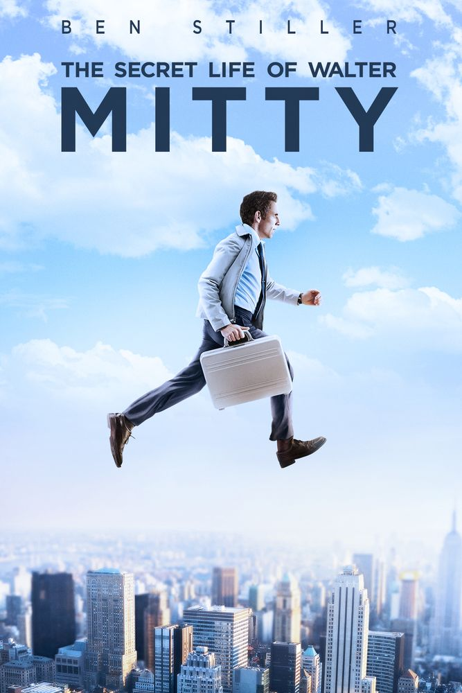 Image result for secret life of walter mitty movie poster