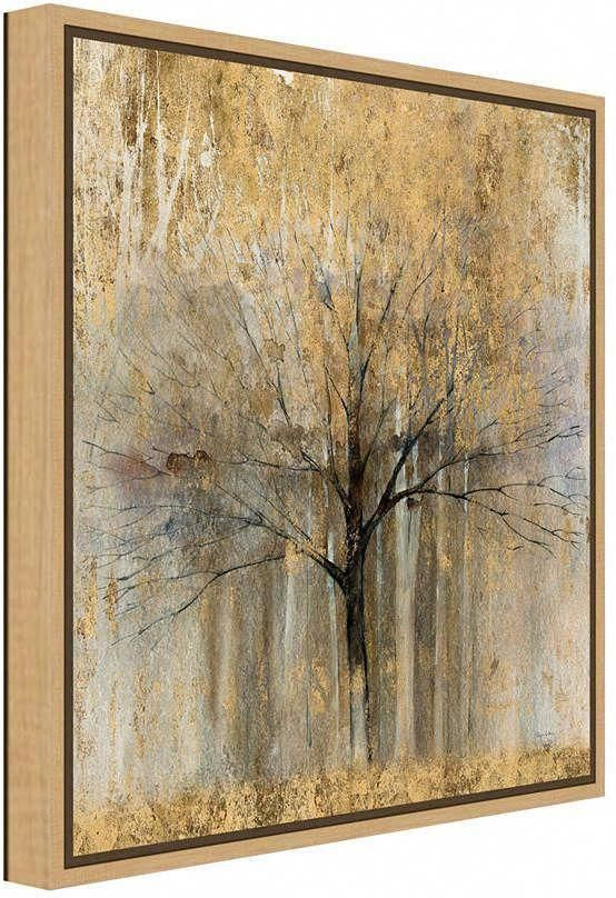 Open Arms Gold Crop by Avery Tillmon Canvas Framed