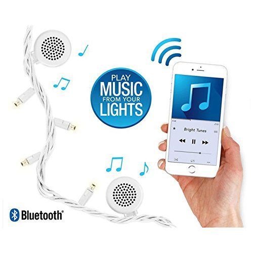 Bluetooth Speaker String Lights Innovative Technology Bright Tunes Decorative String Lights With