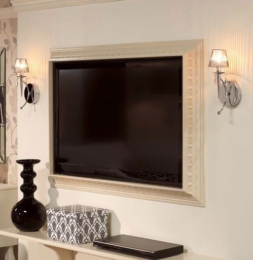 Frame A Tv Home Pinterest Flat Screen Tvs Frames And Interior Inspiration