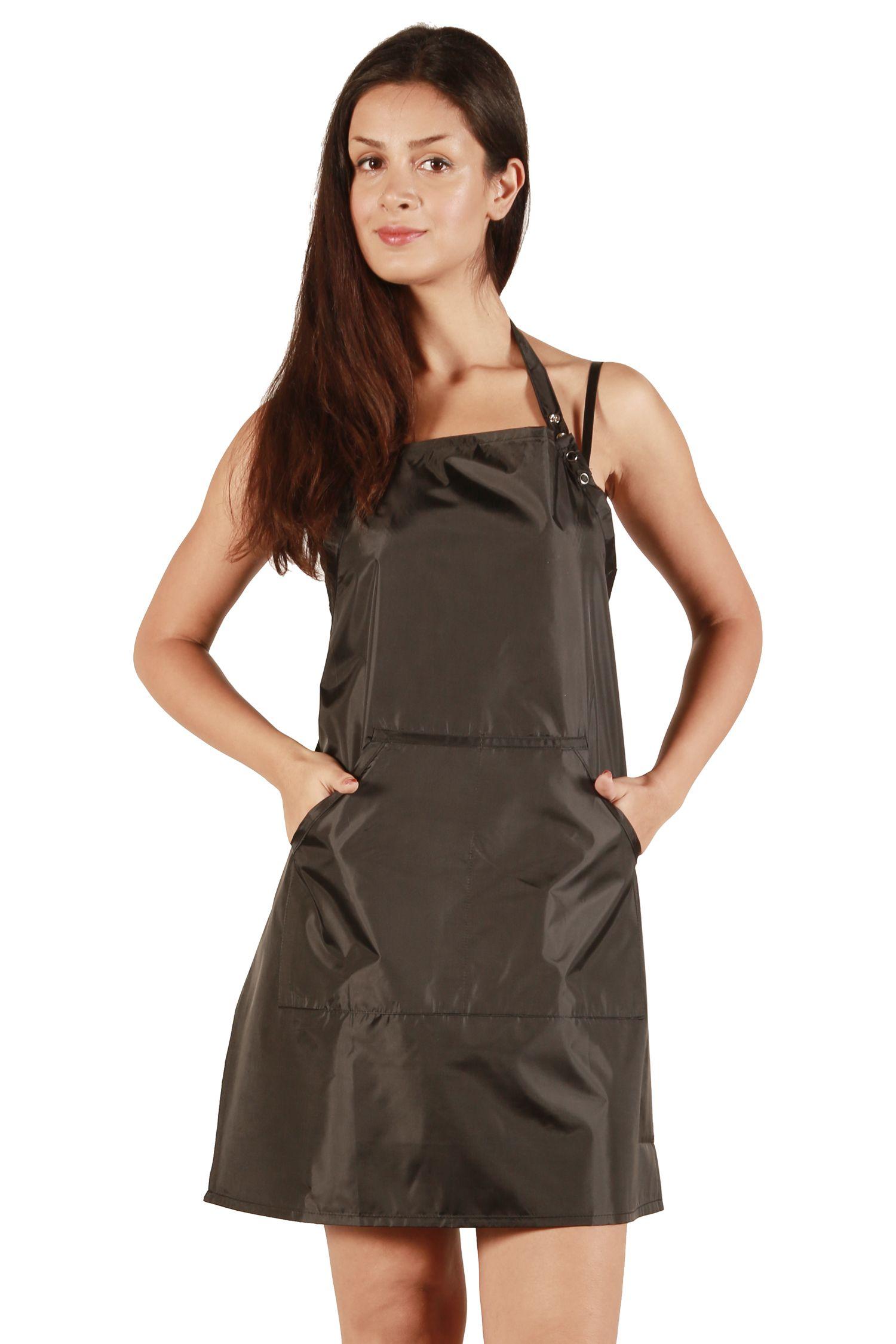 Waterproof Black Apron Black apron, Fashion, Stylists aprons