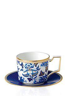 Hibiscus Iconic 10 Oz Teacup 6 In Saucer Tea Cups Tea Tea Cup Set