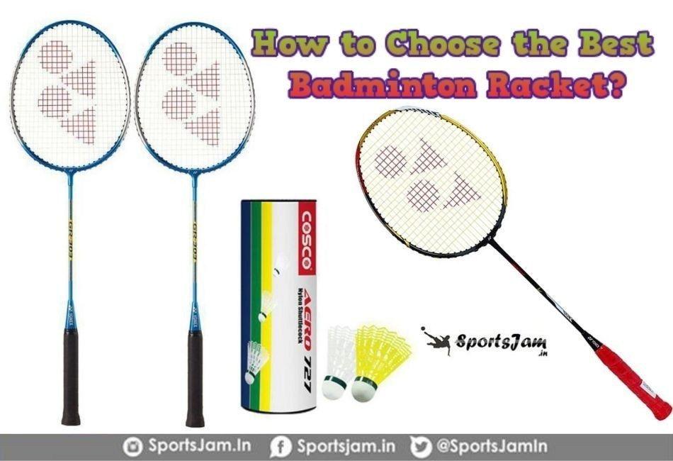 How To Choose The Best Badminton Racket Badminton Racket Best Badminton Racket Badminton