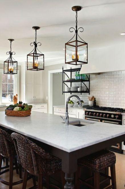 Kitchen lighting update islands 36+ Ideas   Kitchen ...