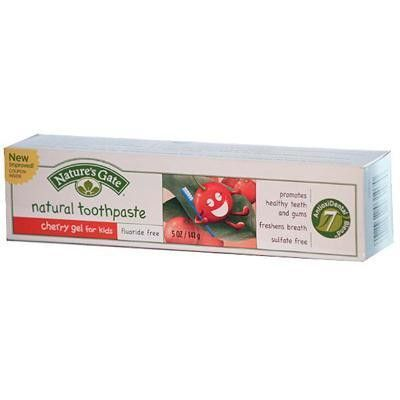 Nature's Gate Cherry Gel Toothpaste For Kids (6x5 Oz)