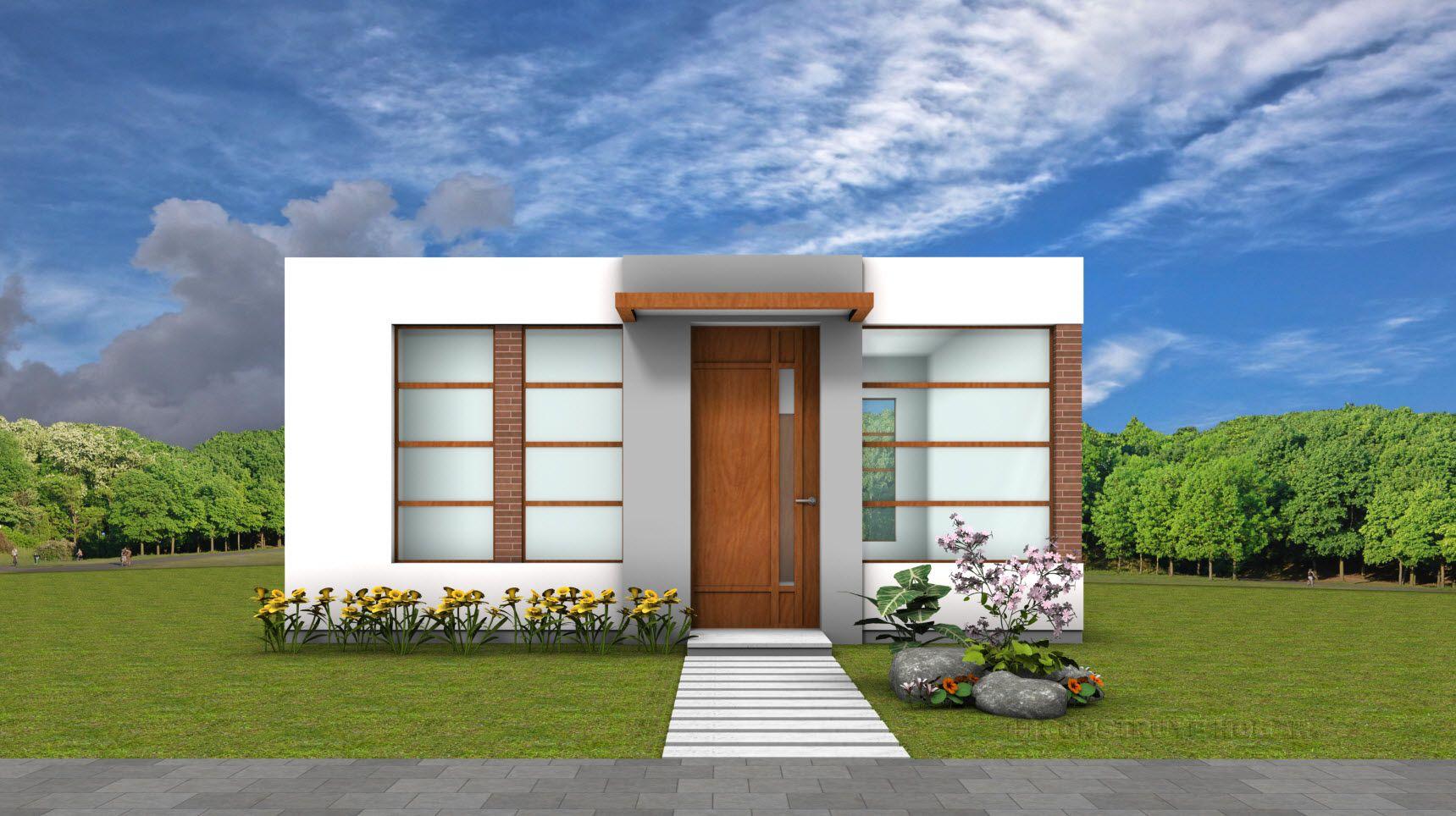 Planos de casa peque a de 42 metros cuadrados casas for Diseno para casa de 90 metros cuadrados