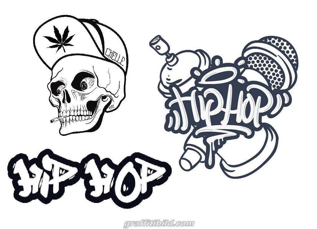 Hip Hop Graffiti Coloring Pages Graffiti Wenn Du Mal Buch Ausmalbilder Zum Ausdrucken