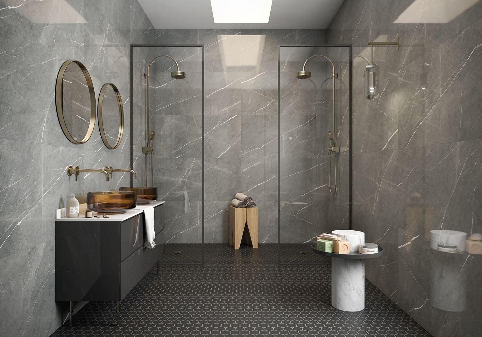 Piasentina Tiles Polished Porcelain Roca Tile Usa Large Format Tile Flooring Store Wood Look Tile Bathroom