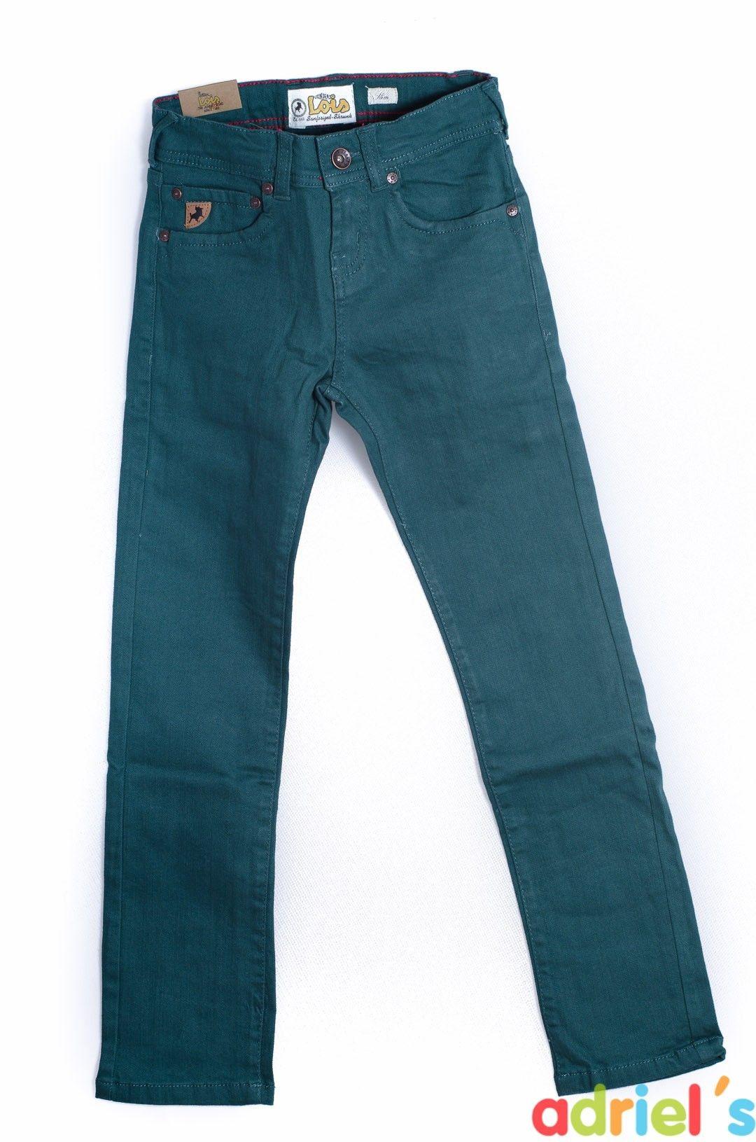 5511ad319 Pantalones color petroleo para niño de Lois Jeans | OUTLET MODA ...
