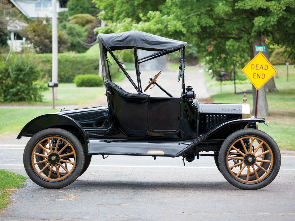 Vintage Handsome Men — 1915 Ford Model T Runabout. | Automobiles ...