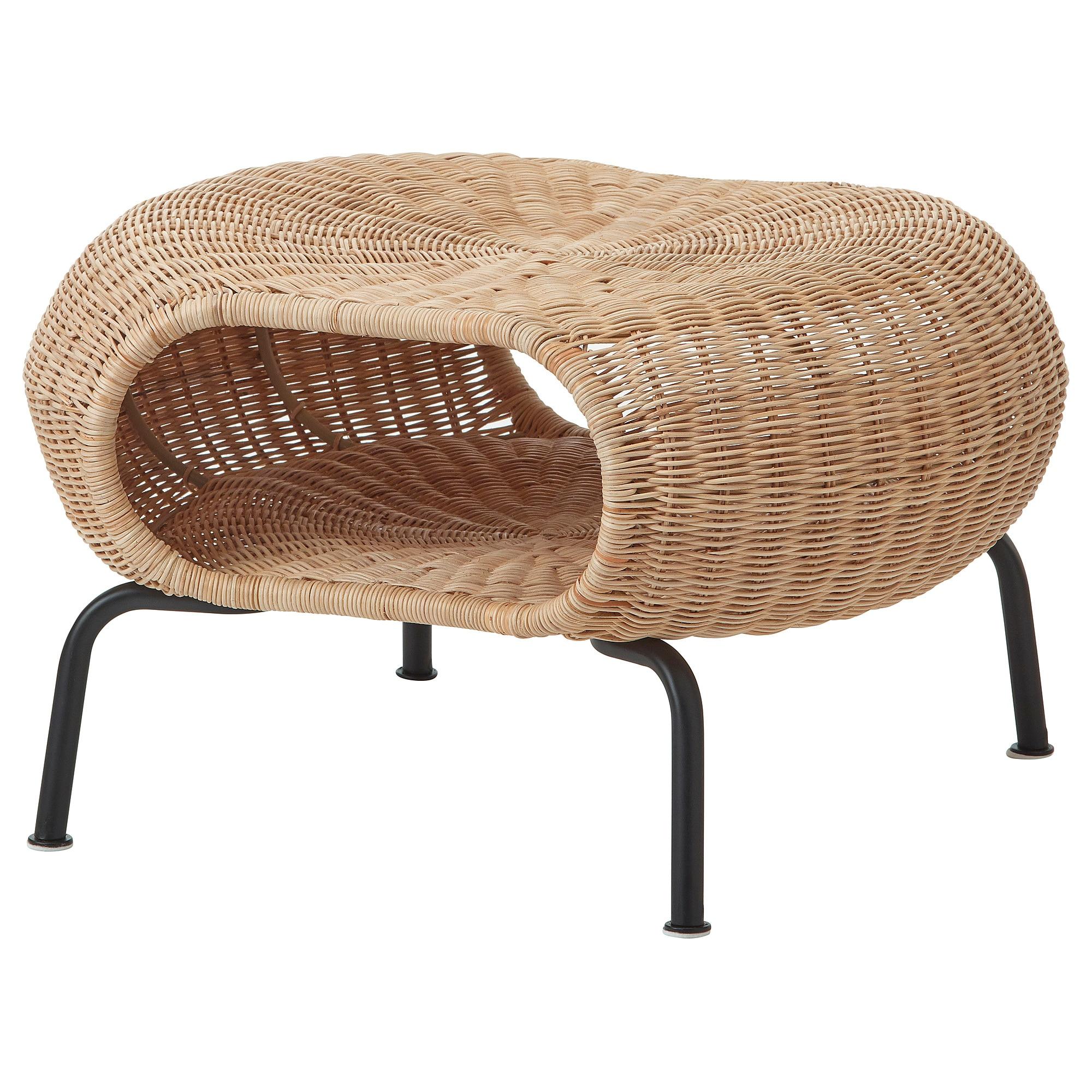 Tremendous Gamlehult Ottoman With Storage Rattan Anthracite In 2019 Inzonedesignstudio Interior Chair Design Inzonedesignstudiocom