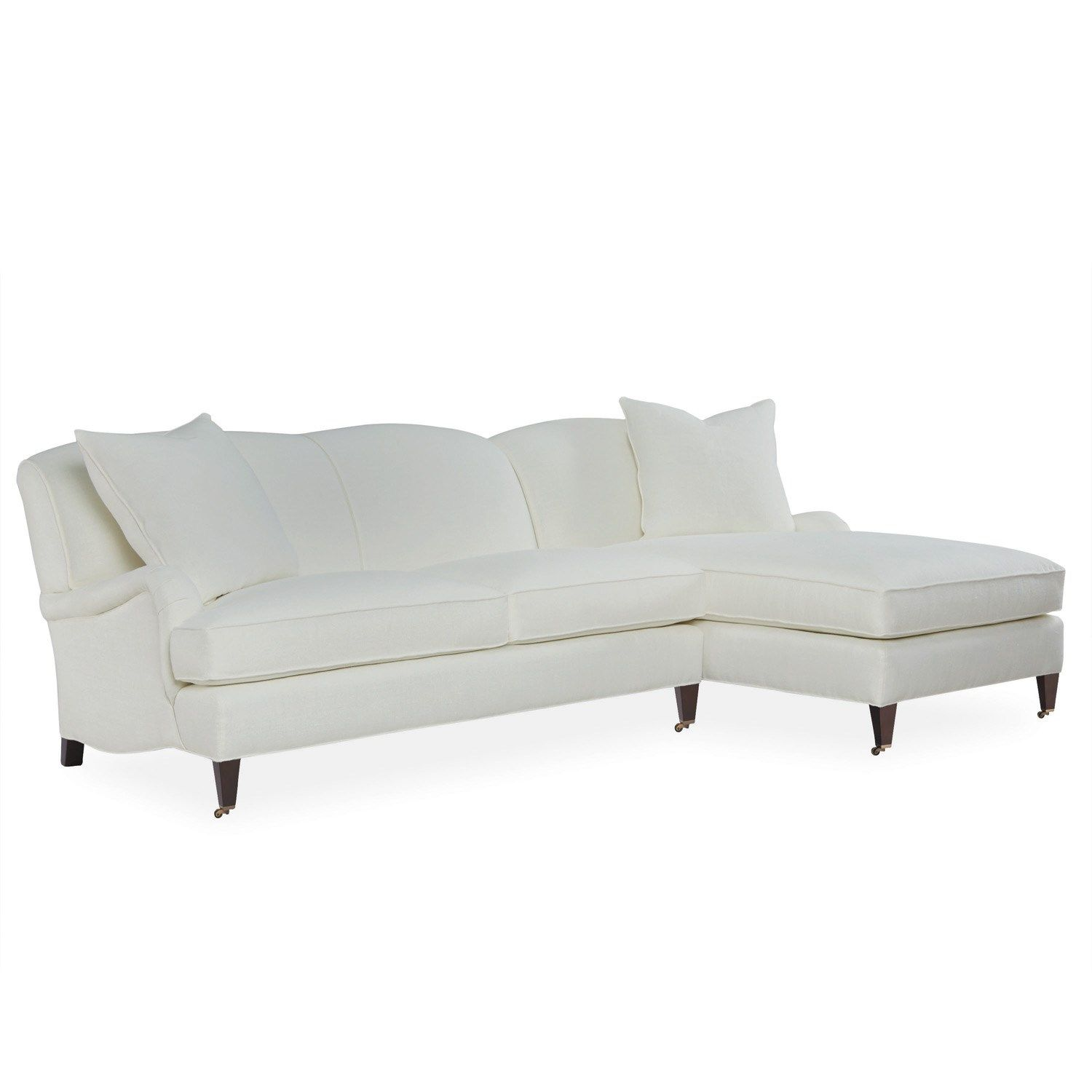 Layla Grayce makes a sectional of the classic George Smith style English roll arm sofa  sc 1 st  Pinterest : english roll arm sectional sofa - Sectionals, Sofas & Couches