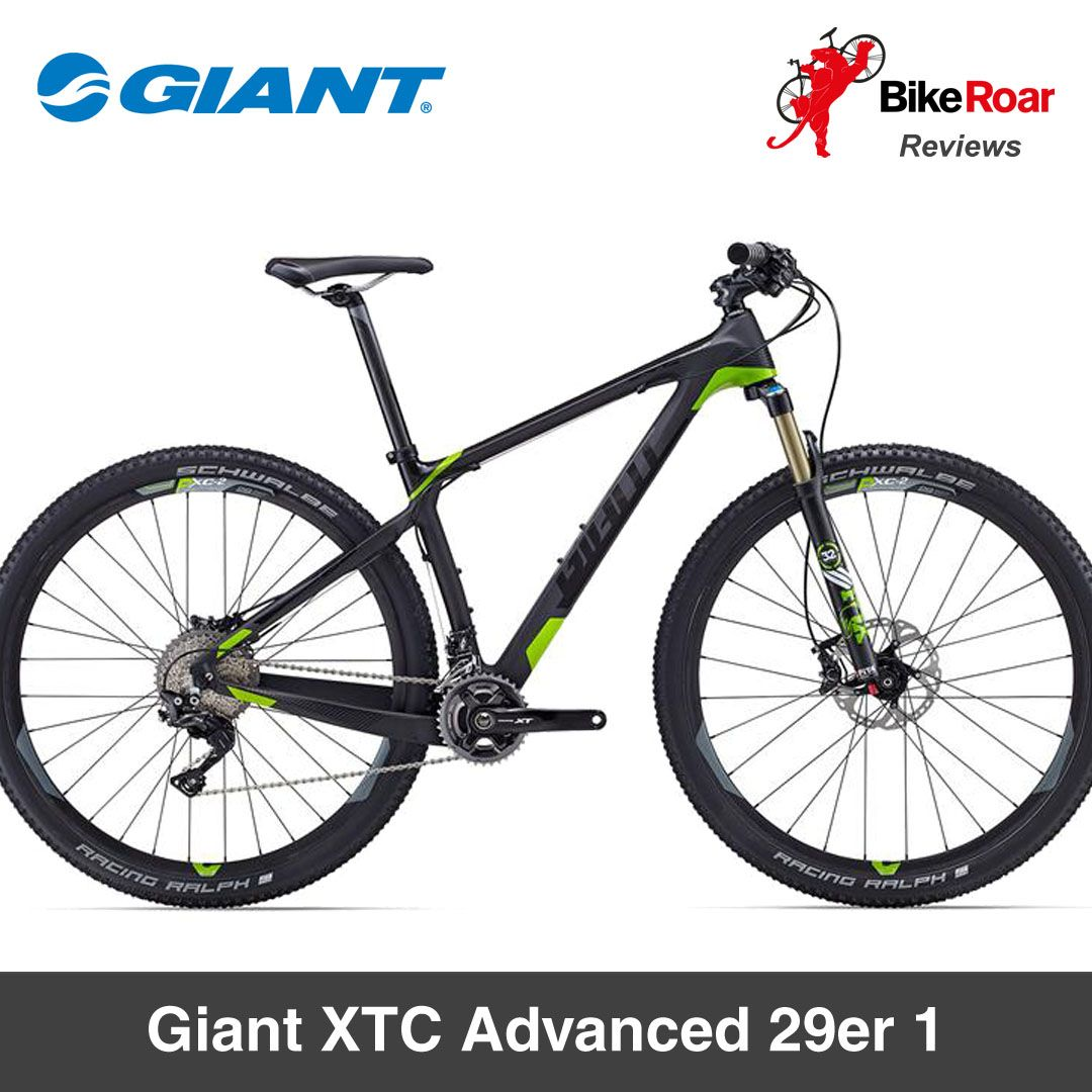 """The Giant XTC Advanced 29er 1 is the ultimate hardtail for 2016.""  BikeRoar Bike Review - LEARN MORE: .   #mountainbiking #mtb #bicycle #giantbicycles #hardtail #bike #bikereview"
