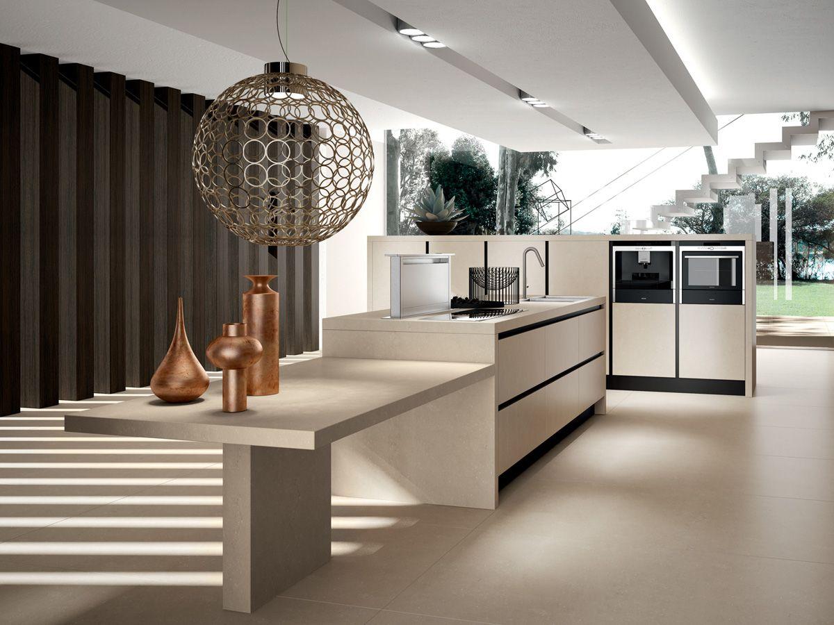 cocinas integrales minimalistas con isla - Buscar con Google ...