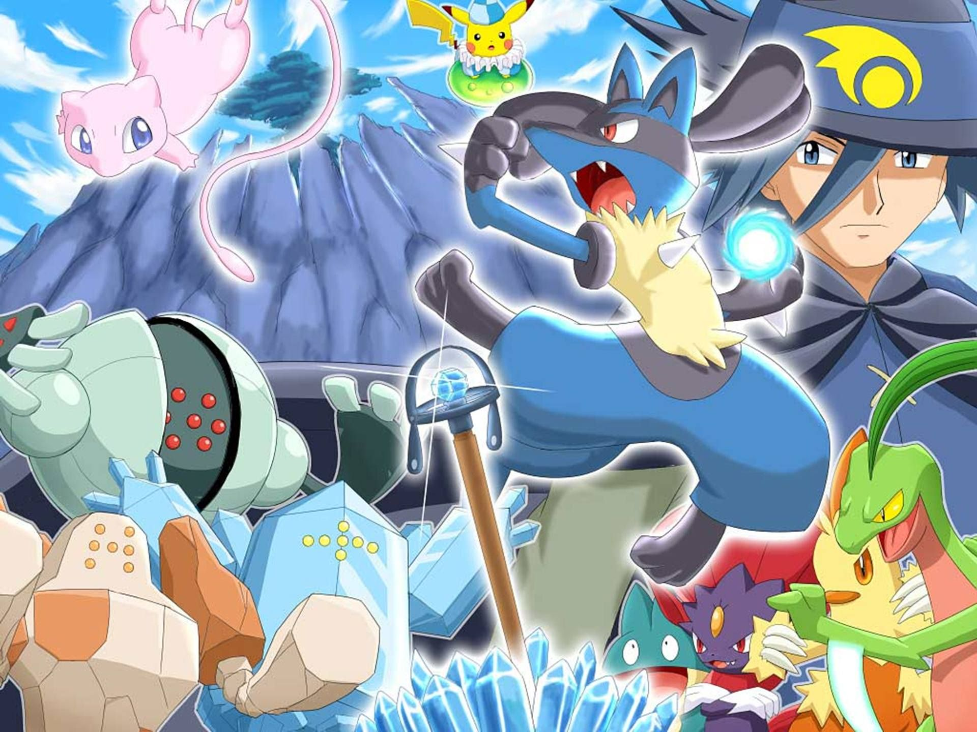 Pokemon Lucario And The Mystery Of Mew HD
