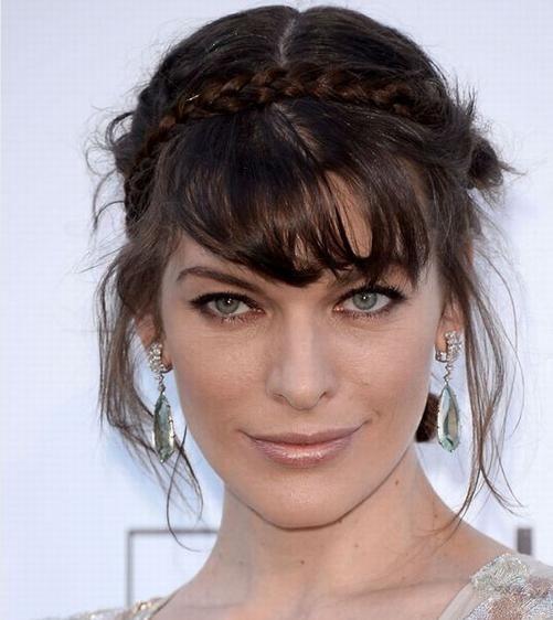 Acogedor peinados para cara alargada Galería de cortes de pelo estilo - Peinados para la cara alargada | Curly hair styles
