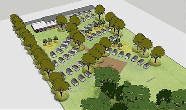Tiny House Village For Kc Homeless Vets Tiny House Village Tiny House Tiny House Trailer