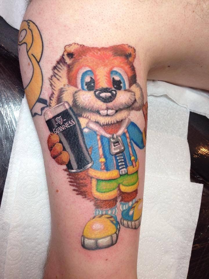Conker Tattoo Tattoos, Conkers, Gaming tattoo