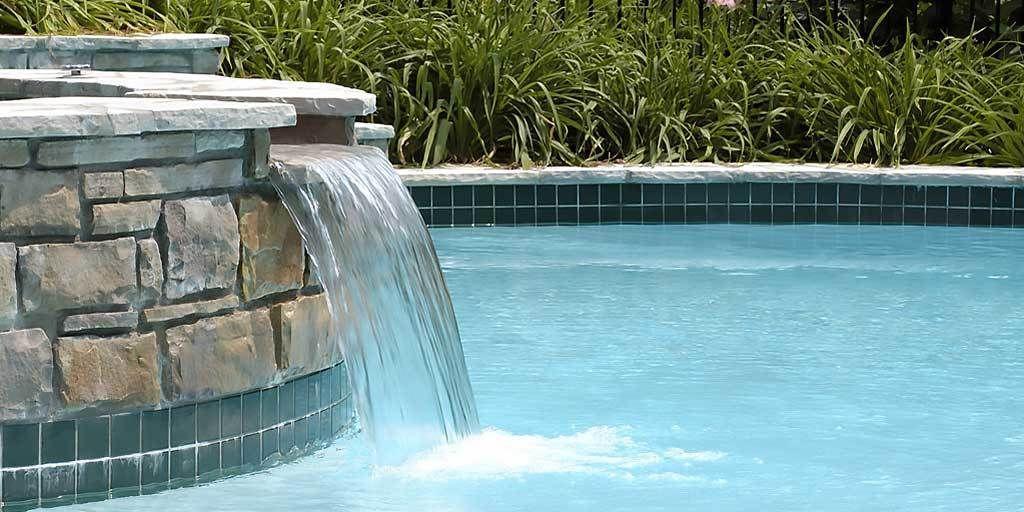 Top 5 Salt Water Pool Benefits Every Pool Owner Should Know Pool Waterfall Saltwater Pool Custom Pools
