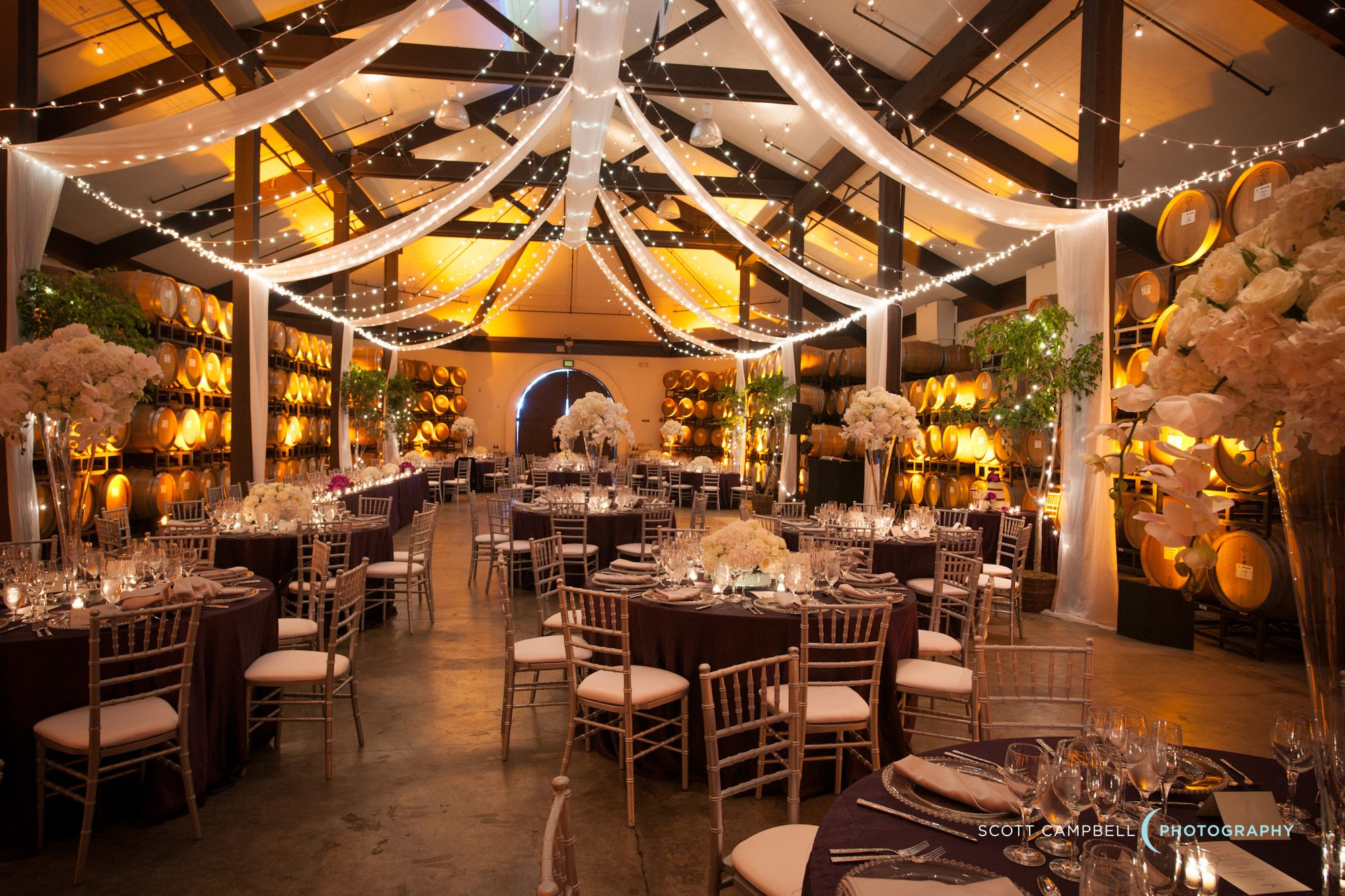 Wedding hall decoration images  Complete decor by Chic Events  Chateau Julien Weddings u Events