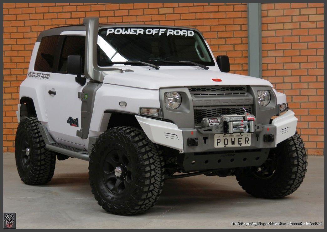 Para Choque Dianteiro Mod 01 Troller 2015 Troller 2015 Jeep