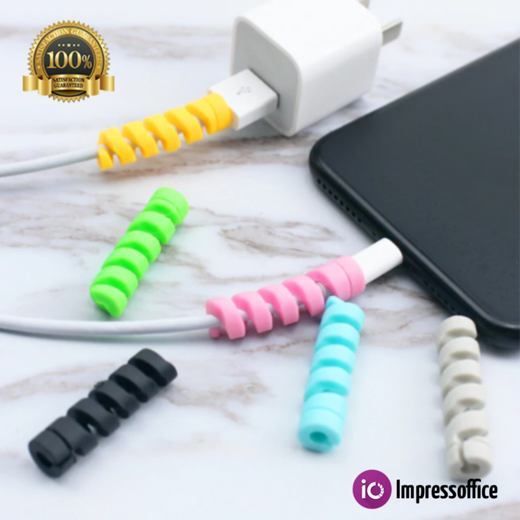 10pcs Cable Winder Silicone Cable Organizer Wire Wrapped Cord Storage Holder New
