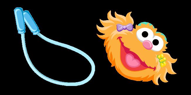 Sesame Street Zoe Sesame Street Muppets Jump Rope