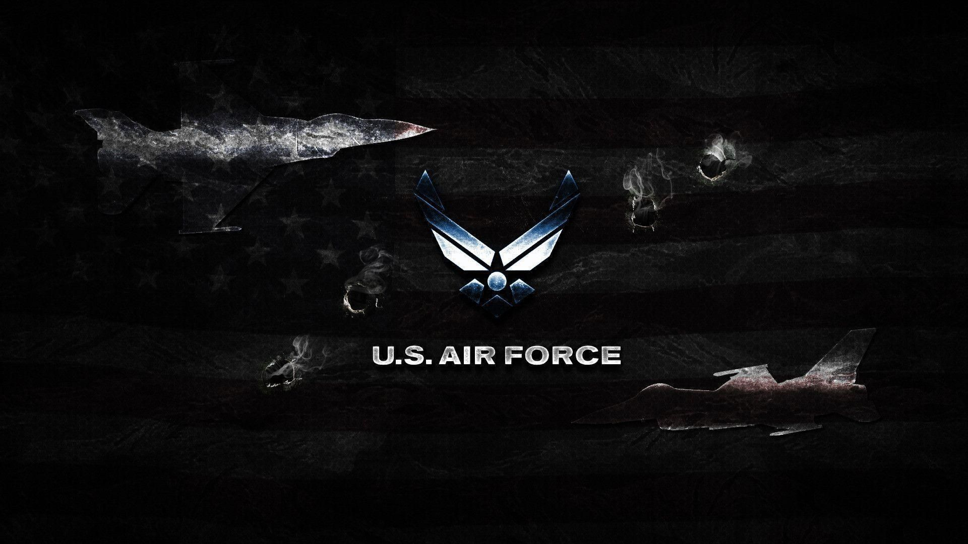 10 Most Popular Us Air Force Logo Wallpaper Full Hd 1080p For Pc Desktop Air Force Wallpaper Air Force Us Air Force