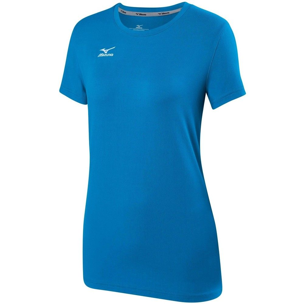 Mizuno Women S Volleyball Attack Tee Shirt 2 0 Size Extra Extra Large In Color Diva Blue 5s5s Women Volleyball Fashion Tee Shirts