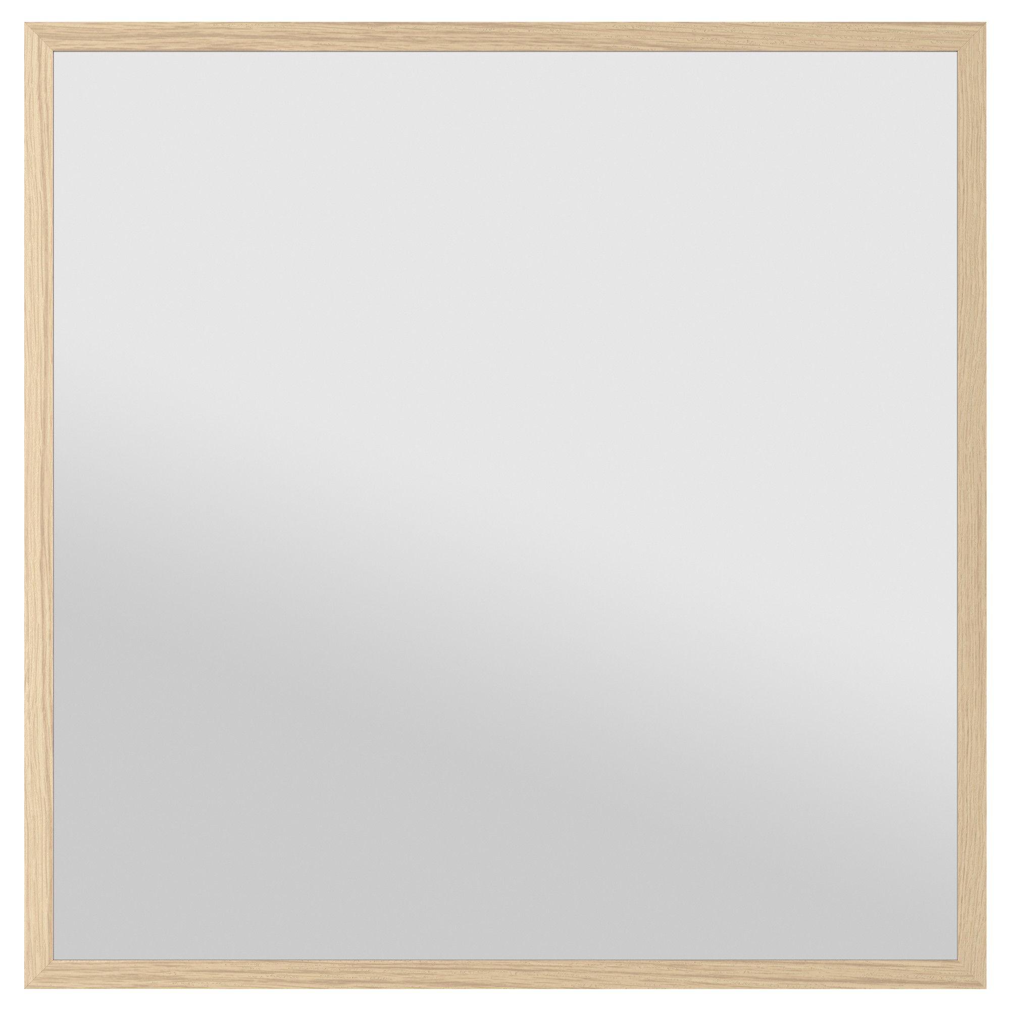 Espejos De Baño En Ikea | Stave Espejo Efecto Roble Tinte Blanco Ikea Espejo Bano Ikea