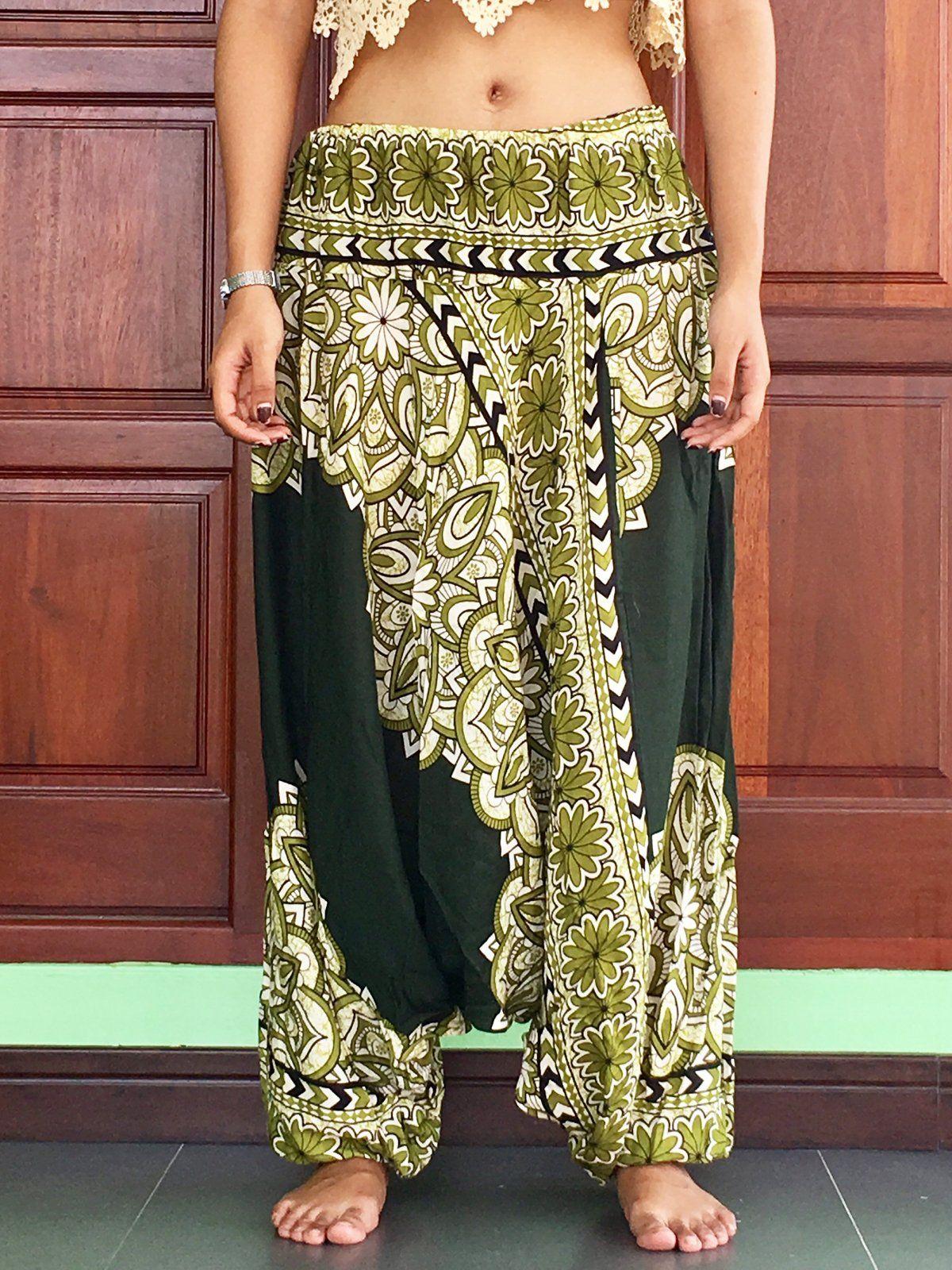 d12b194a139 Plus Size Unisex balloon Olive harem cargo pants summer Aladdin trousers  mens - best harem cargo girls pants yoga pants womens summer trousers mens  ...