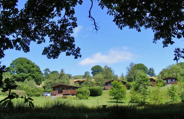 Oakwood Lodge Park Rhayader, Elan Valley, Powys (Sleeps 1 -6