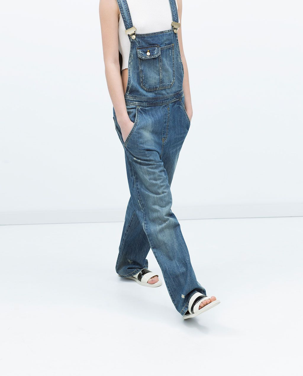 New Look Damen Relaxed Bust Knee Overall