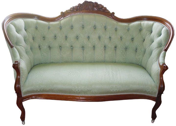 I Want A Vintage Tufted Sofa.