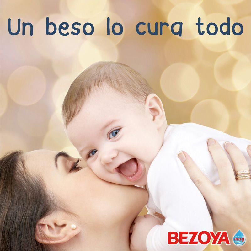 Un Beso Lo Cura Todo Bezoya Bebe Bebe A Bordo Madre Hijo