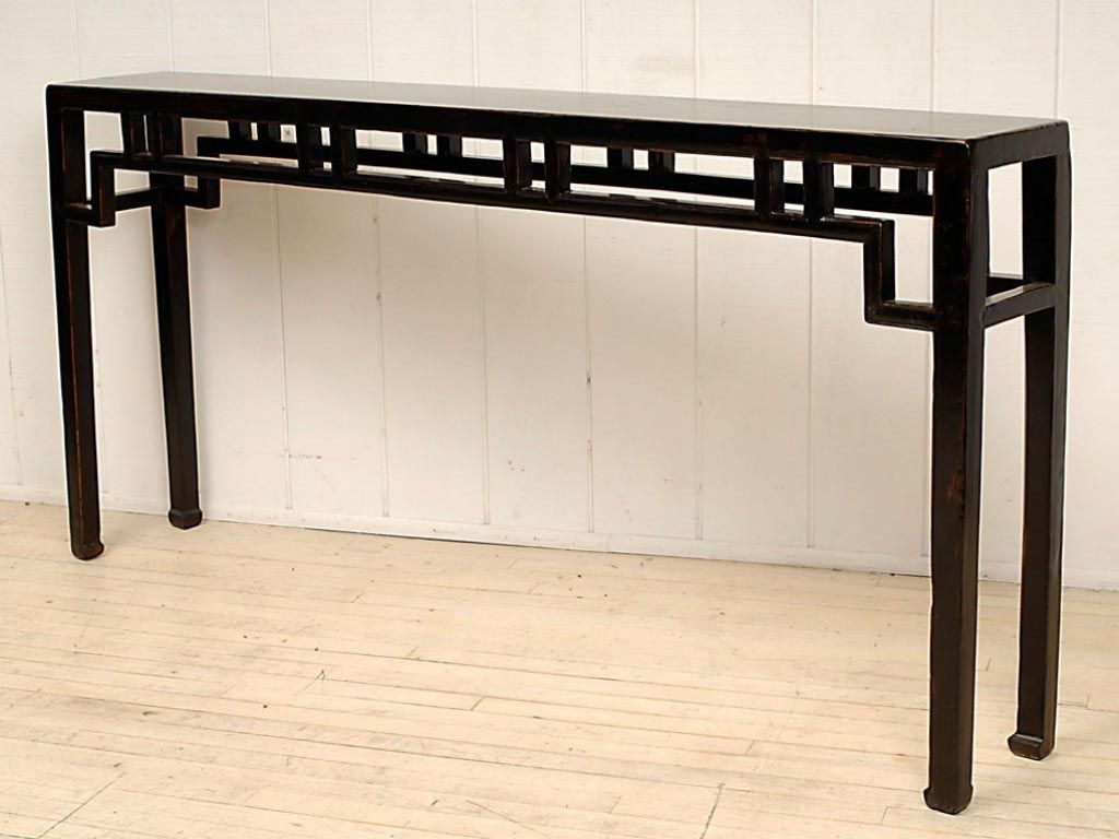 Narrow Coffee Table Ikea Extra Long Console Table Black Console