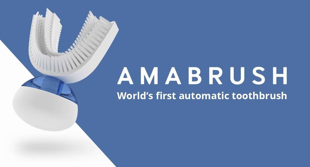 Never Brush Your Teeth Again With Amabrush Amabrush Com