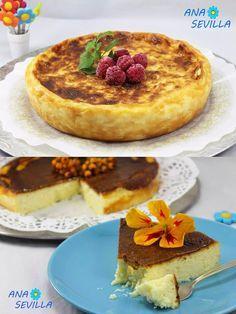 Irresistible tarta de queso / http://www.juanideanasevilla.com/