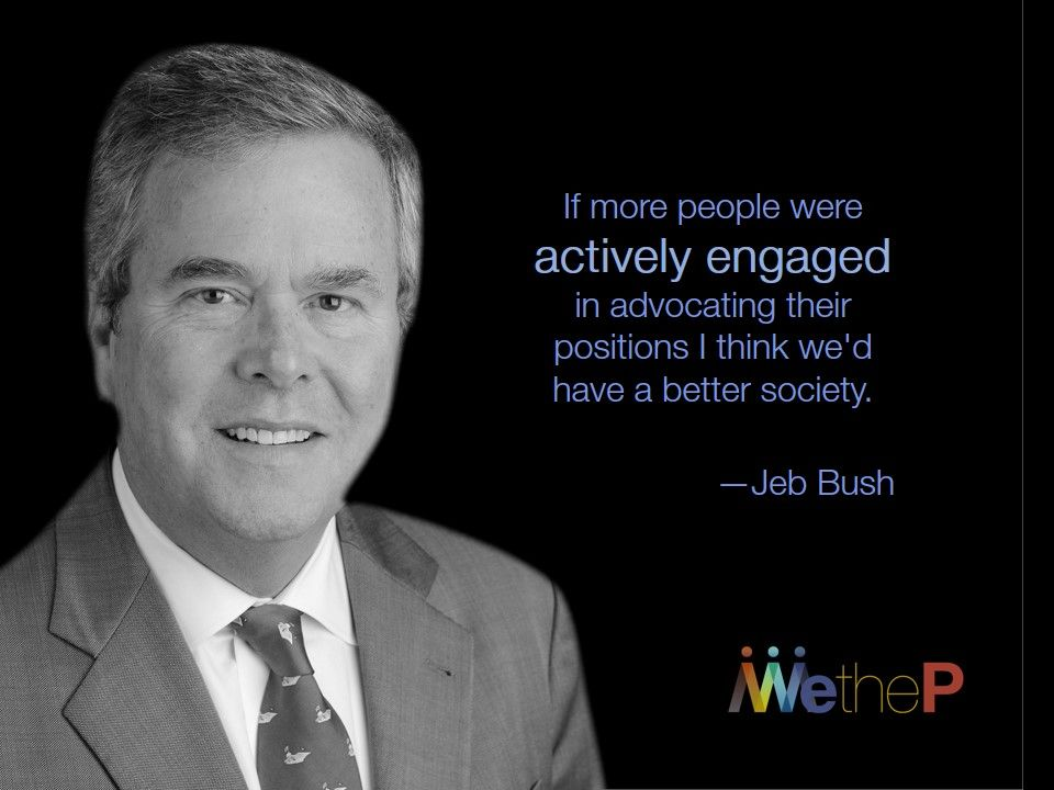 "Jeb Bush Quotes New Happy Birthday Jeb John Ellis ""jeb"" Bush Is An American Politicia"