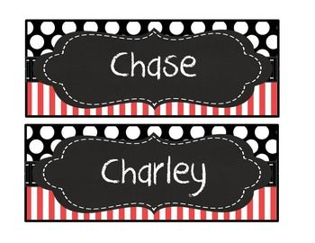 Editable- 4 different designs. . You simply type in student names, print on card…