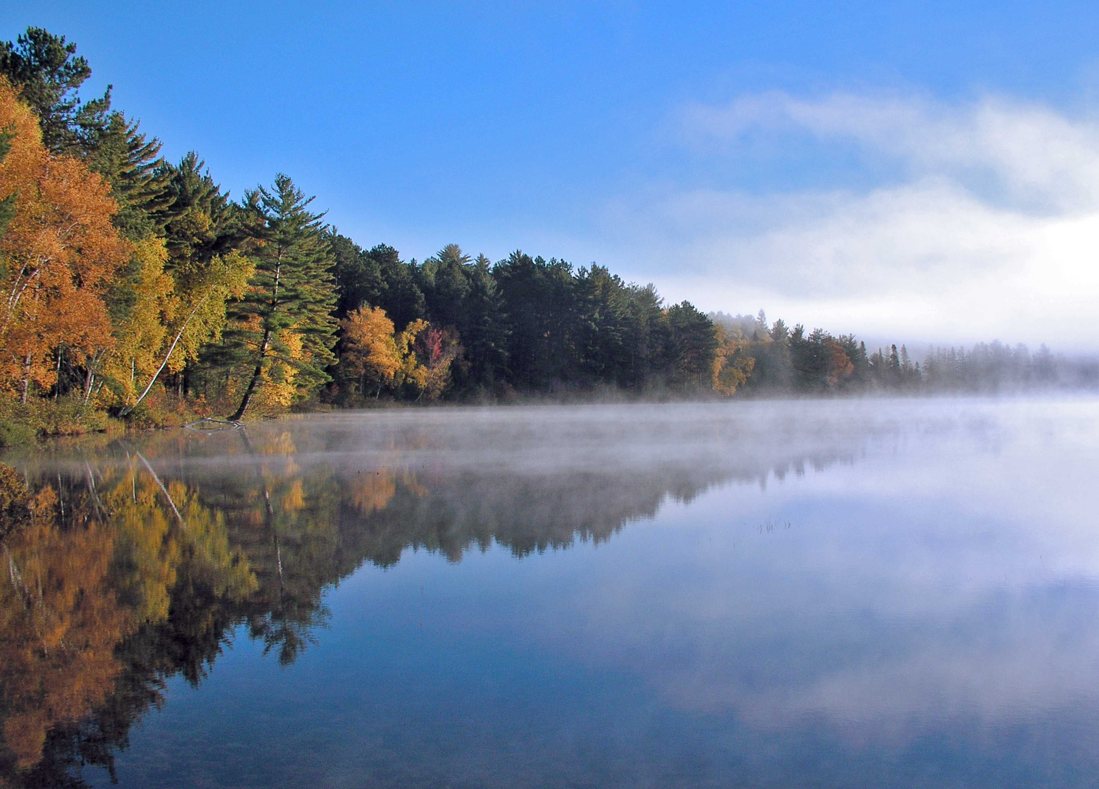 Autumn Colors In Vilas Park Lagoon >> What S Your Favorite Thing About Fall In Vilas County Pristine