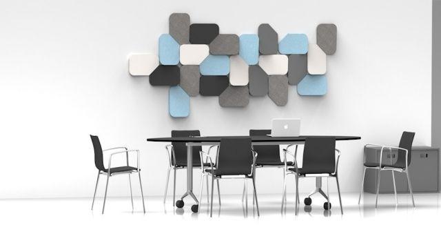 Schöne Wohnideen Für Wände FLAKE Akustische Wandplatten Ander Lizaso Design